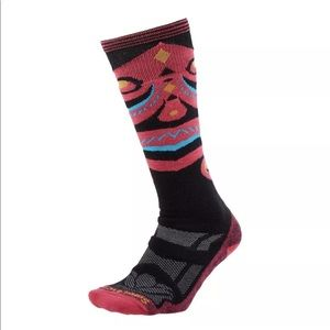 Womens Smartwool SNOWBOARD SKI M Over Calf Socks